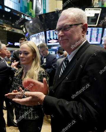 Alf Ragnar Lovdal, Kathrine Fredriksen North Atlantic Drilling CEO Alf Ragnar Lovdal, and Kathrine Fredriksen, applaud as the Norwegian company's IPO begins trading at the New York Stock Exchange
