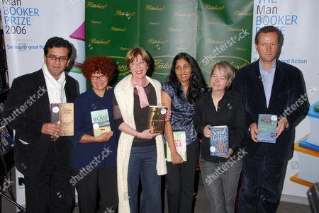 Hisham Matar, Kate Grenville, M.J. Hyland, Kiran Desai, Sarah Waters and Edward St Aubyn
