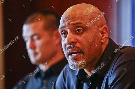 Tony Clark Tony Clark, the new Executive Director of the Major League Baseball Players Association, during a news conference, in San Diego. Clark is succeeding Michael Weiner, who passed away last month