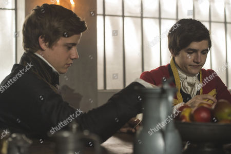 Basil Eidenbenz as Lohlein and TOMMY LAWRENCE KNIGHT as Brodie
