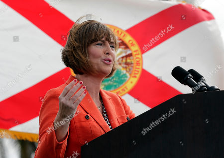 Charlie Crist, Kathy Castor U.S. Rep Kathy Castor speaks before former Republican Florida Gov. Charlie Crist at a campaign rally, in St. Petersburg, Fla. Crist announced that he is running again for governor, this time as a Democrat