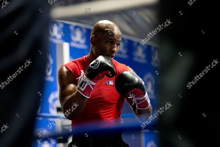 Bernard Hopkins Boxer Bernard Hopkins in action during a media workout, in Philadelphia. Hopkins is scheduled to fight Karo Murat at Boardwalk Hall in Atlantic City, N.J., on Oct. 26