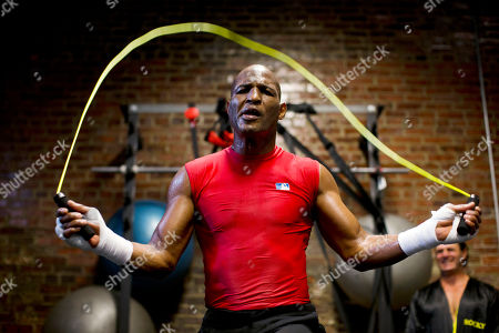 Bernard Hopkins Boxer Bernard Hopkins jumps rope during a media workout, in Philadelphia. Hopkins is scheduled to fight Karo Murat at Boardwalk Hall in Atlantic City, N.J., on Oct. 26
