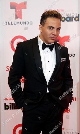 Cristian Castro Singer Cristian Castro at the Latin Billboard Awards, in Coral Gables, Fla