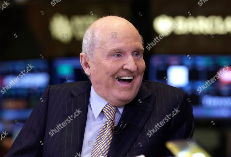 Jack Welch Former Chairman and CEO of General Electric Jack Welch appears on CNBC on the floor of the New York Stock Exchange