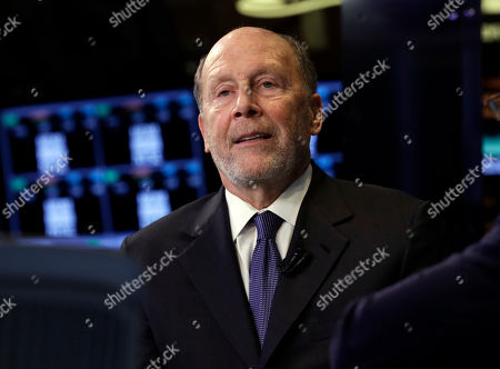 """Lewis """"Lew"""" Frankfort Chairman and CEO of Coach, Inc. Lewis """"Lew"""" Frankfort is interviewed on the floor of the New York Stock Exchange"""