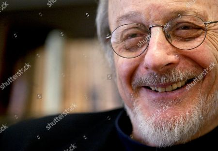 Stock Picture of E L Doctorow Author E.L. Doctorow smiles during an interview in his office at New York University. Doctorow will be honored with the Library of Congress Prize for American Fiction. Librarian of Congress James H. Billington made the announcement