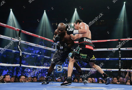 Editorial photo of Marquez Bradley Boxing, Las Vegas, USA