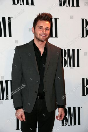 Stock Image of Joel Crouse Joel Crouse arrives for the BMI Country Awards, in Nashville, Tenn