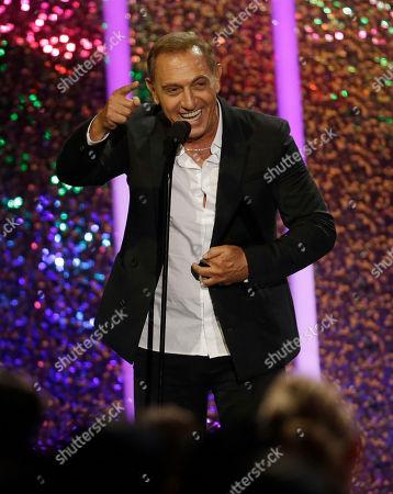 Franco de Vita Singer Franco de Vita receives the Billboard Billboard Hall of Fame Award at the Latin Billboard Awards, in Coral Gables, Fla