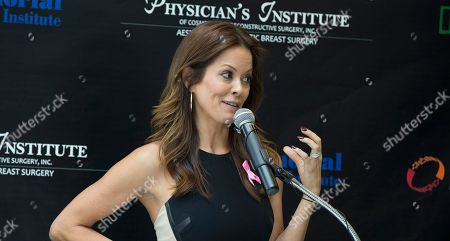 "Brooke Burke Brooke Burke, actress and host of ""Dancing with the Stars"" host, joined board certified plastic surgeons and breast oncologists in South Florida to kick off the second annual Breast Reconstruction Awareness (BRA) Day USA event, at Joe DiMaggio Hospital in Hollywood, Fla. Burke is a thyroid cancer survivor. The BRA Day USA 2013 theme is the ""team approach"" to breast cancer care, emphasizing the need for all breast cancer care physicians and other healthcare providers to work together to provide patients with an understanding of the various options and an individualized treatment plan"