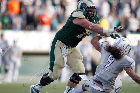 Weston Richburg, Matthew Lyons Colorado State center Weston Richburg, left, knocks over Nevada linebacker Matthew Lyons in the third quarter of Colorado State's 38-17 victory in an NCAA college football game in Fort Collins, Colo., on