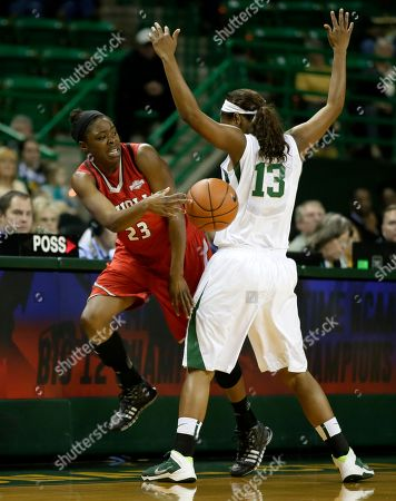 Editorial picture of Nicholls St Baylor Basketball, Waco, USA