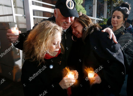 John Kaufmann, Priscila Satkoff, Jamie Pellar Chef John Kaufmann, center, consoles Chef Priscila Satkoff, right, and Jamie Pellar, left, during a candlelight memorial for Chicago Chef Charlie Trotter outside his former restaurant, in Chicago. Trotter, 54, died Tuesday, a year after closing his namesake Chicago restaurant that was credited with putting his city at the vanguard of the food world and training dozens of the nation's top chefs, including Grant Achatz and Graham Elliot