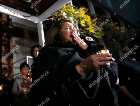 Priscila Satkoff Chef Priscila Satkoff fights back tears during a candlelight memorial for Chicago Chef Charlie Trotter outside Trotter's former restaurant, in Chicago. Trotter, 54, died Tuesday, a year after closing his namesake Chicago restaurant that was credited with putting his city at the vanguard of the food world and training dozens of the nation's top chefs, including Grant Achatz and Graham Elliot