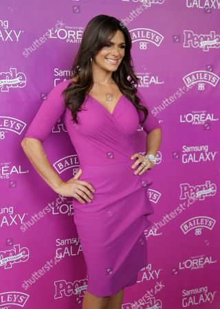 Barbara Bermudo Journalist Barbara Bermudo of Puerto Rico poses on the red carpet before a luncheon hosted by People en Espanol magazine recognizing the top 25 Hispanic women in the industry, in Coral Gables, Fla