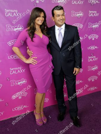 Barbara Bermudo, Mario Andres Moreno Journalist Barbara Bermudo of Puerto Rico, left, poses on the red carpet with her husband Mario Andres Moreno, right, before a luncheon hosted by People en Espanol magazine recognizing the top 25 Hispanic women in the industry, in Coral Gables, Fla