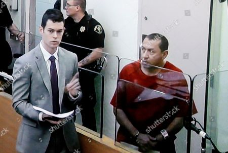 Stock Picture of Michael Sean Stanley In this image photographed off of a video monitor, Michael Sean Stanley, right, appears in court with defense attorney Nick Gross, in Seattle. Days after Canadian authorities decided not to extradite Stanley, a violent sex offender who crossed into the U.S., he is in custody, suspected of sexually assaulting a 16-year-old boy. Stanley appeared in a Seattle court on Wednesday after being jailed for investigation of harassment for an incident Tuesday morning