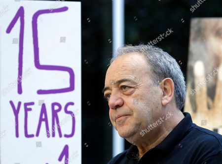 Stock Image of Tito Valverde Spanish actor Tito Valverde, who appears in the film 15 Anos Y Un Dia (15 Years And One Day), at a news conference preceding the 19th Recent Spanish Cinema film festival, in Beverly Hills, Calif