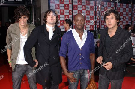 Dirty Pretty Things - Anthony Rossomando, Didz Hammond, Gary Powell and Carl Barat