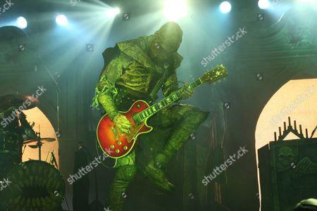 Editorial picture of Lordi in concert, Vienna, Austria - 11 Oct 2006