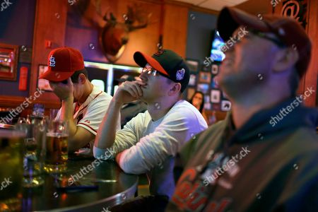 Editorial image of World Series Cardinals Reaction Baseball, St. Louis, USA