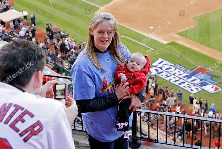 Editorial photo of World Series Red Sox Cardinals Baseball, St. Louis, USA