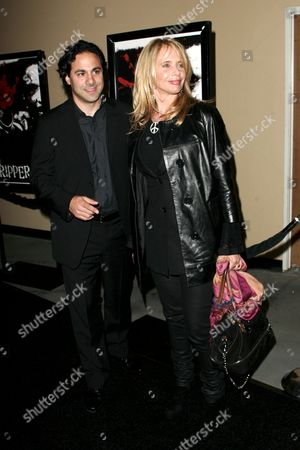 Stock Photo of Gabe Sachs and Rosanna Arquette
