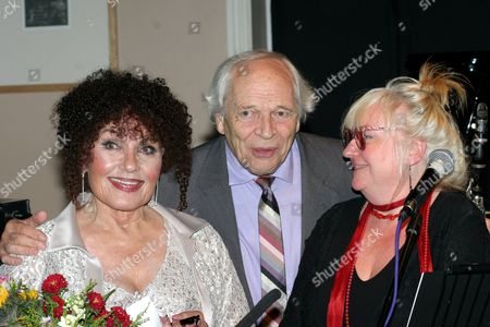 Cleo Laine, John Dankworth and Jen Wilson of Women in Jazz