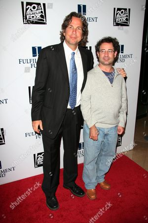 Stock Picture of Peter Farrelly and Ricky Blitt