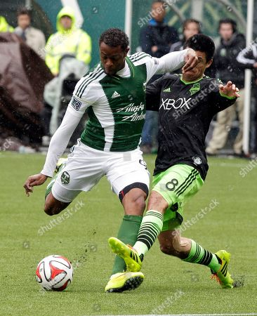Editorial image of MLS Sounders Timbers Soccer, Portland, USA