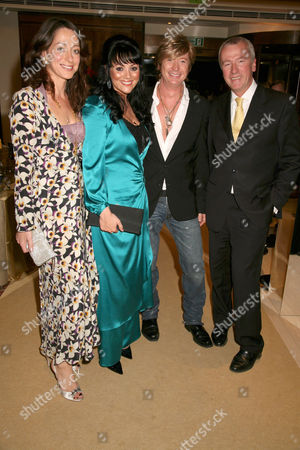Miss Dee, Martine McCutcheon, Nicky Clarke and hotel manager