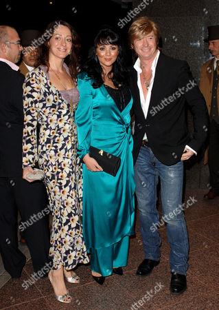 Miss Dee, Martine McCutcheon and Nicky Clarke