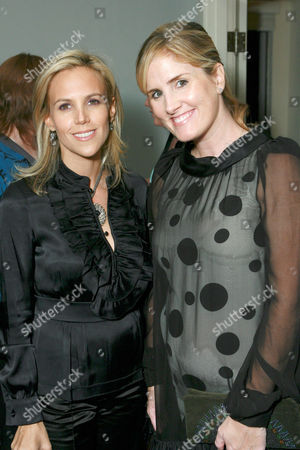Tory Burch and Mary Alice Haney