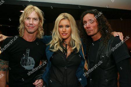 Duff McKagan, Susan Holmes and Richard Stark