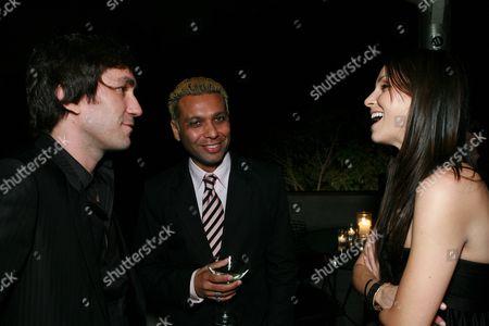 Brent Bolthouse, Tony Kanal and Erin Lokitz