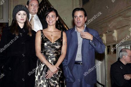 Dominique Garcia, Ines Sastre and Andy Garcia