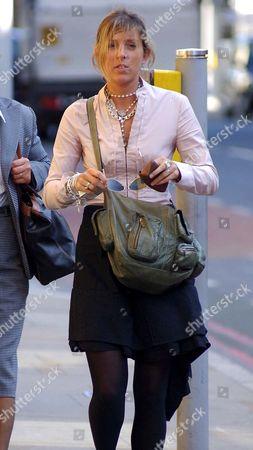 Editorial image of Rebecca McCubbin leaving Southwark Crown Court, London, Britain - 18 Oct 2006
