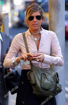 Editorial photo of Rebecca McCubbin leaving Southwark Crown Court, London, Britain - 18 Oct 2006