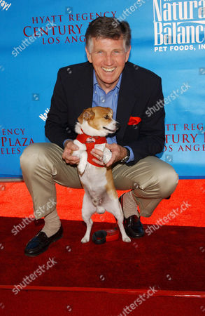 Gary Collins and dog Brewster