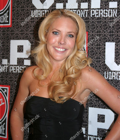 Stock Image of Mercedes McNab who features in a six page nude pictorial and cover appearance in 'Playboy'