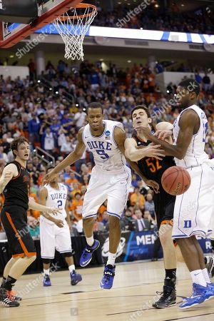 Editorial photo of NCAA Mercer Duke Basketball, Raleigh, USA