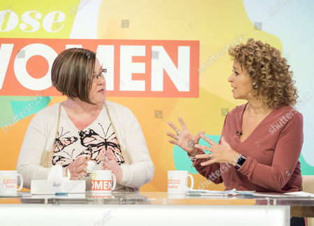 Dee Kelly and Nadia Sawalha