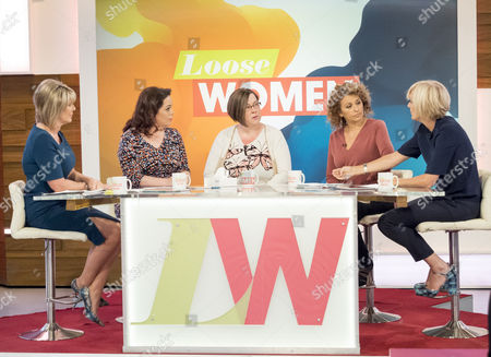 Ruth Langsford, Lisa Riley, Dee Kelly, Nadia Sawalha and Jane Moore