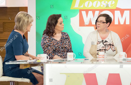 Ruth Langsford, Lisa Riley and Dee Kelly
