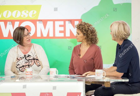 Dee Kelly, Nadia Sawalha and Jane Moore