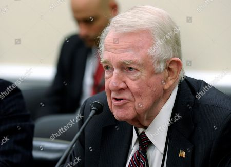Edwin Meese III Former Attorney General Edwin Meese III, who is an expert witness on FBI reform efforts, testifies on Capitol Hill in Washington, before the House Appropriations, Commerce, Justice, Science, and Related Agencies subcommittee hearing on the FBI's fiscal 2015 budget