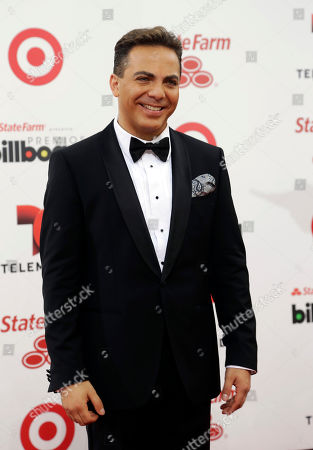 Cristian Castro Singer Cristian Castro arrives at the Latin Billboard Awards in Coral Gables, Fla