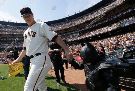 Editorial image of Diamondbacks Giants Baseball, San Francisco, USA