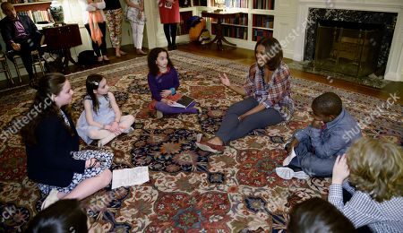 Editorial picture of Michelle Obama, Washington, USA